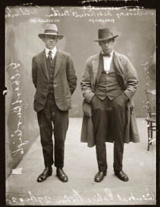 Daniel Rokeby, press photographer might have dressed similar to the gent on the left.
