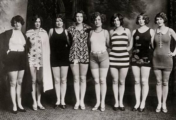 bathing suit parade