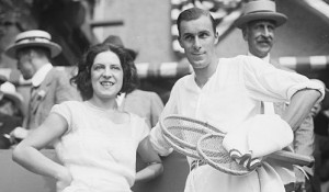 Suzanne Lenglen and Bill Tilden, singles champions at the 1920 Wimbledon Championships
