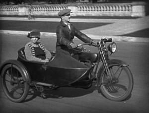 1918 Harley & sidecar