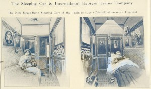 Blue Train sleepingcar