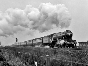 Flying-Scotsman-at-full-speed