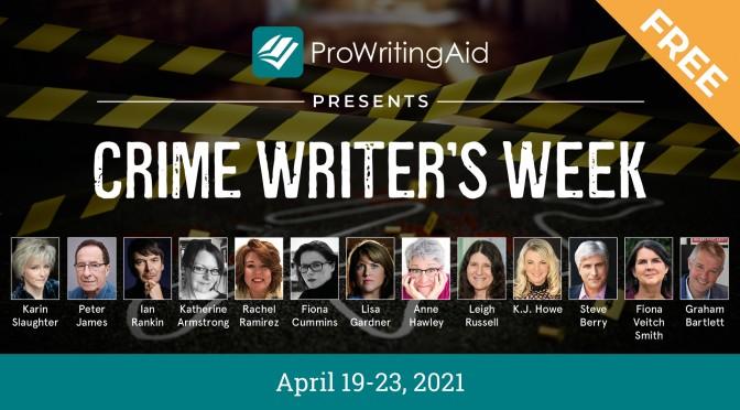 Crime Writer's Week